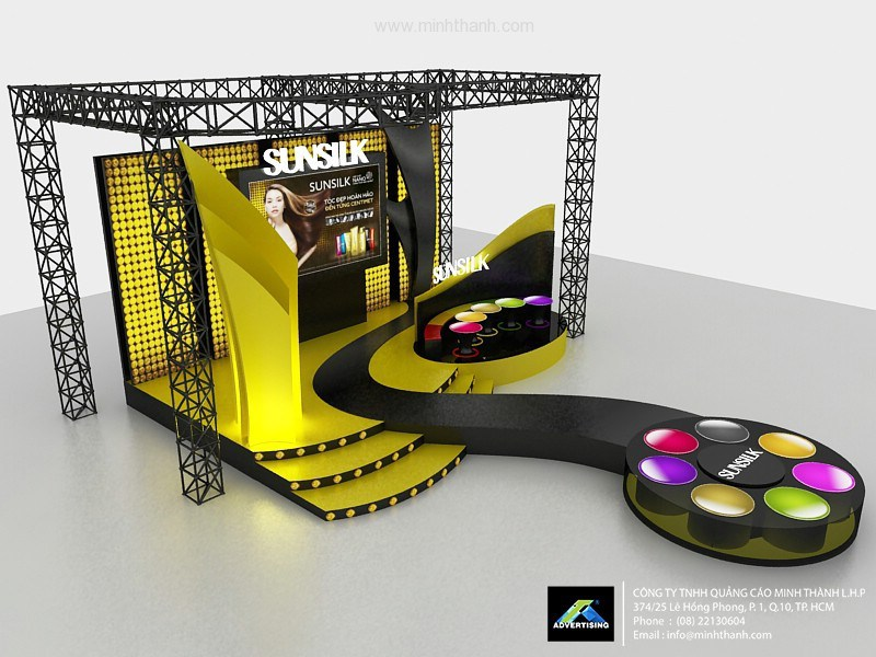 Design booth activation / sampling products