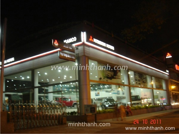 Mitsubishi Motors TDH showroom signboard