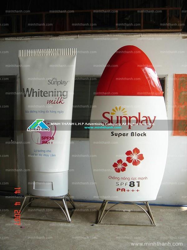 Sunpaly bottle Mockup