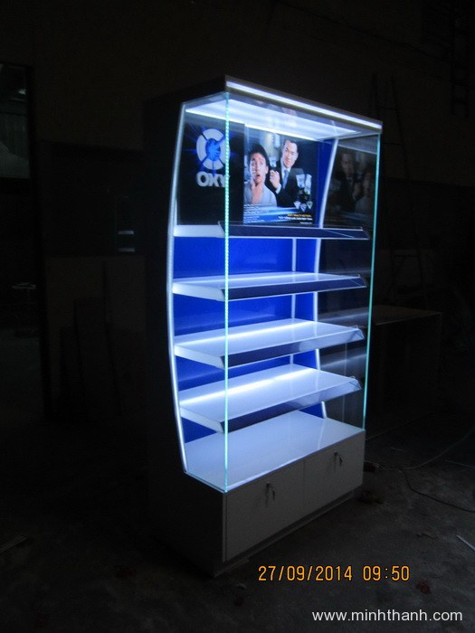 Manufacturing OXY supermarket display cabinets