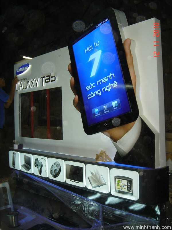 Booth activation for Samsung Galaxy