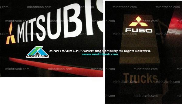 Sản xuất bảng hiệu Mitsubishi Fuso Cần Thơ