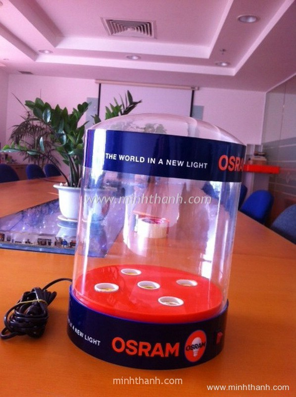 OSRAM light testing box
