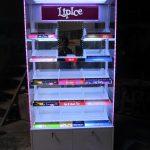 Sản xuất đầu kệ siêu thị Lipice Kiên Giang