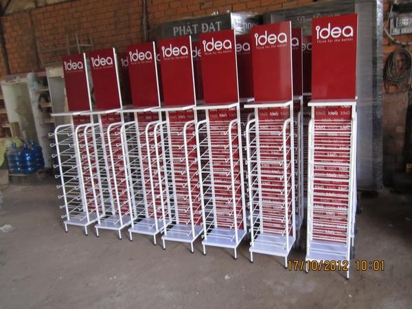 Sản xuất kệ trưng bày sản phẩm giấy ideas