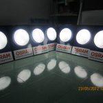 Sản xuất mẫu POSM đèn trần Osram