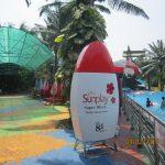 Sản xuất mô hình quảng cáo sản phẩm chai Sunplay