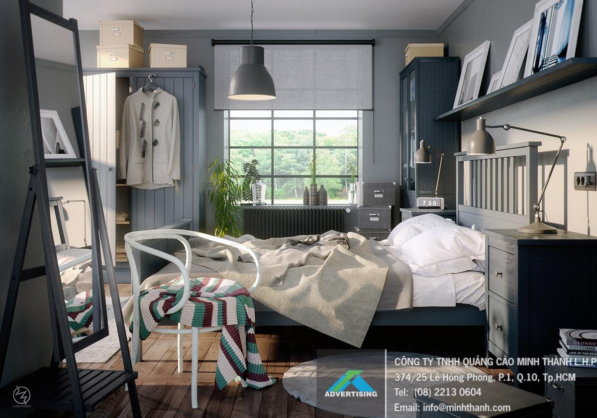 3 phong cách trang trí phòng ngủ kiểu Tây siêu đẹp