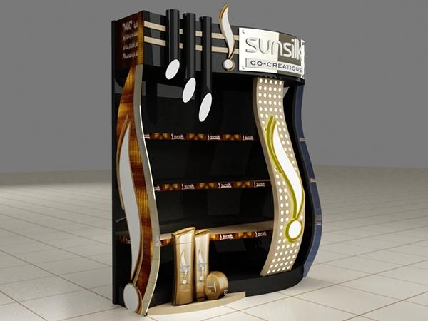 Booth trưng bày sản phẩm Sunsilk