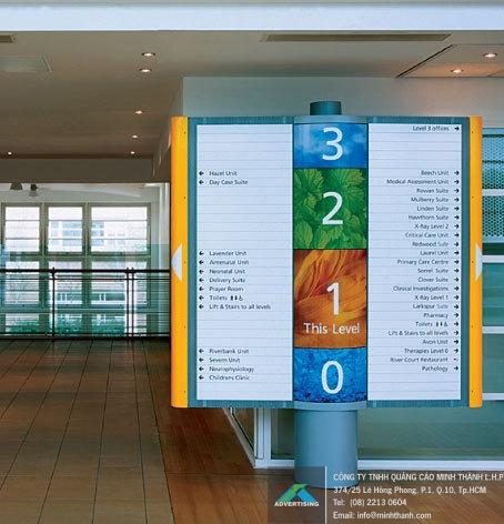 Mẫu Bảng hiệu hướng dẫn tại Bệnh viện (3)