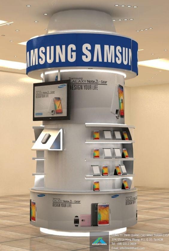 Không gian trưng bày và trải nghiệm cùng Samsung