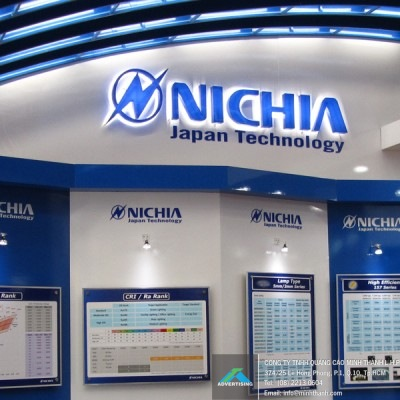 Nichia exhibition booth