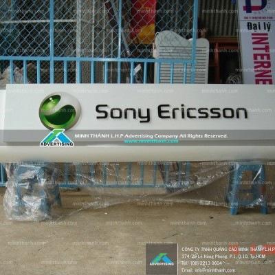 Sony Ericsson alu signboard