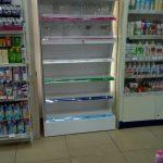 Sản xuất đầu kệ siêu thị Rohto Citymart Bình Dương