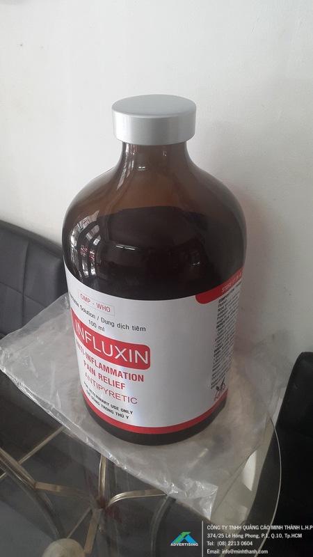 Sản xuất mockup sản phẩm Influxin