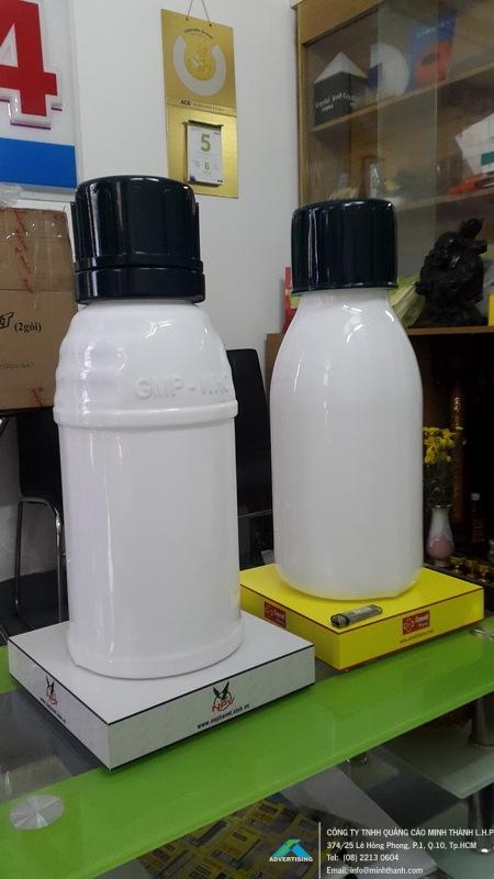 Sản xuất mô hình sản phẩm chai thuốc các loại