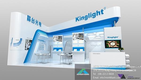 Mẫu gian hàng Kinglight