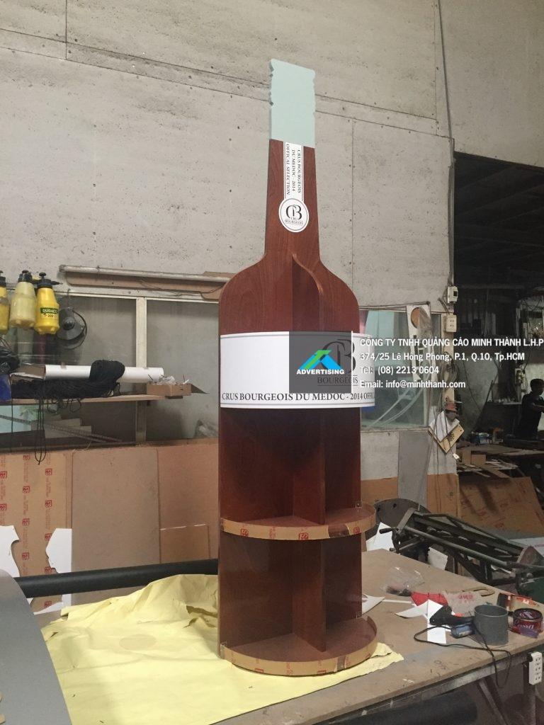Sản xuất kệ rượu Bourgeois