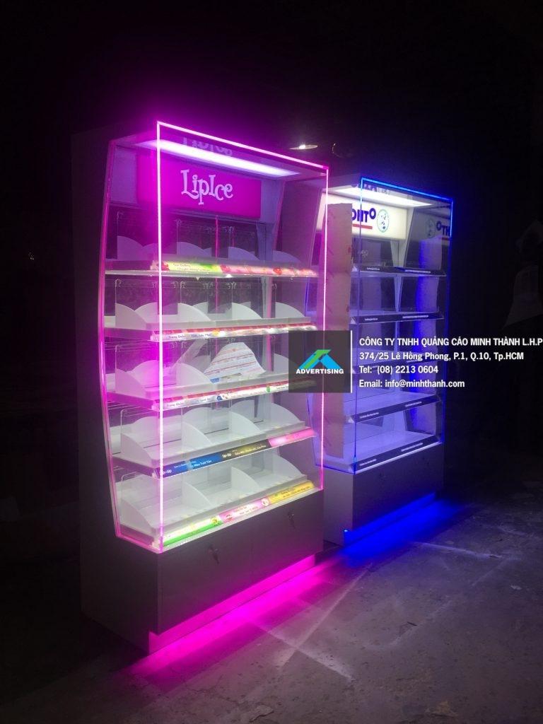 Sản xuất kệ siêu thị Lipice tháng 9 2017