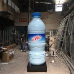 Sản xuất mô hình sản phẩm event chai Lavie