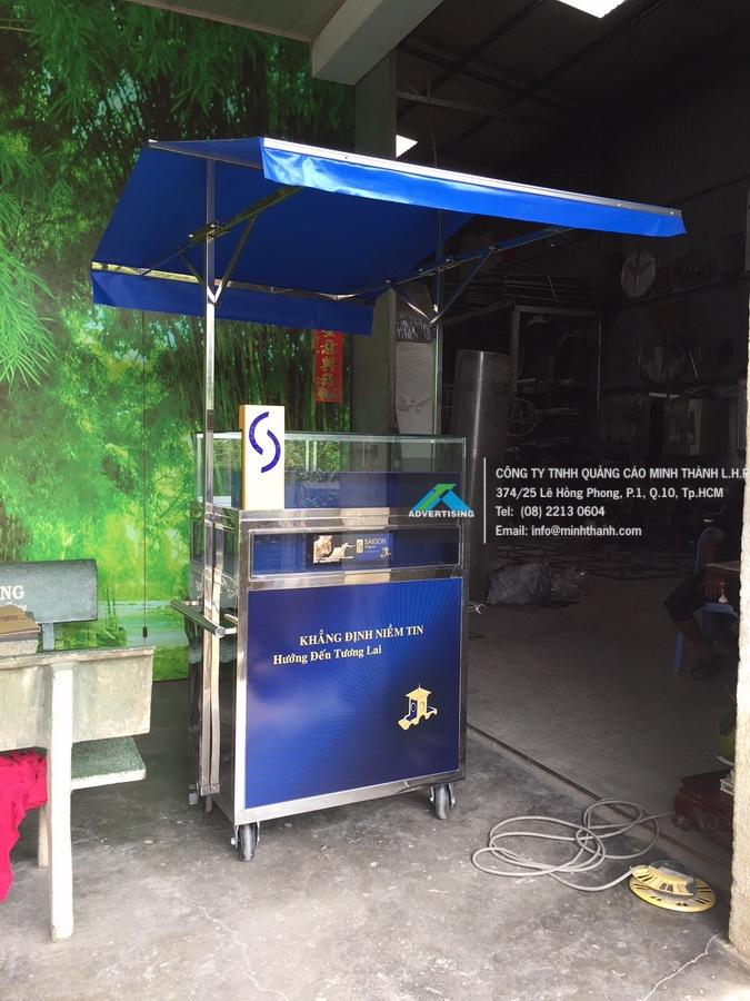 Sản xuất xe tủ thuốc lá & POSM thuốc lá Sài Gòn