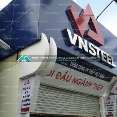 Thiết kế và thi công VNSteel showroom