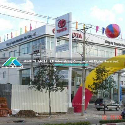 showroom Toyota Đông Sài Gòn