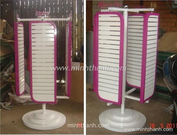 Rohto Cong Hoa 4 sides swivel display shelf