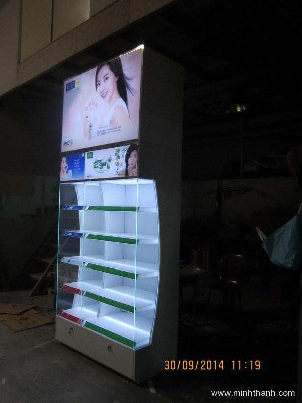 Sản xuất đầu kệ siêu thị Rohto Ocean Time Hà Nội
