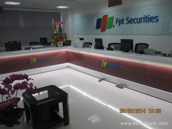 Decor khu vực chăm sóc khách hàng FPT