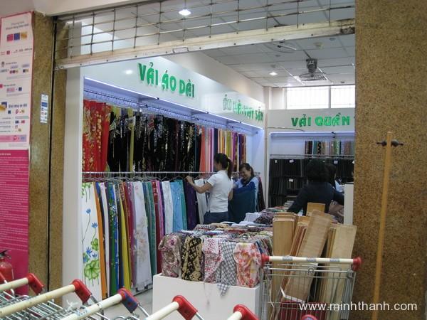 Decor nội thất shop vải Đinh Tiên Hoàng