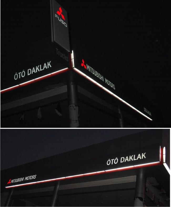 Sản xuất bảng hiệu Mitsubishi FUSO Daklak và các tỉnh thành Việt nam