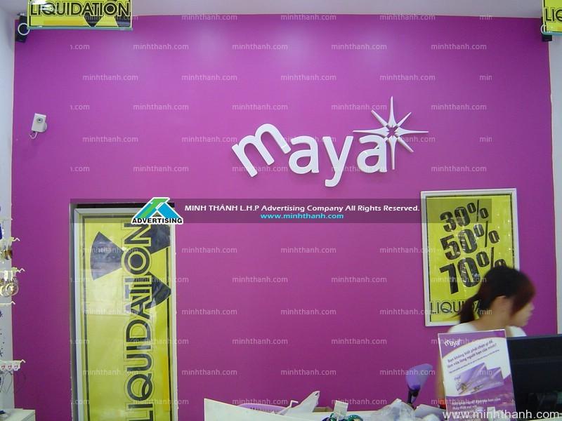 Construction Maya fashion shop
