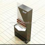 Sản xuất tủ trưng bày cao cấp thuốc lá Davidoff