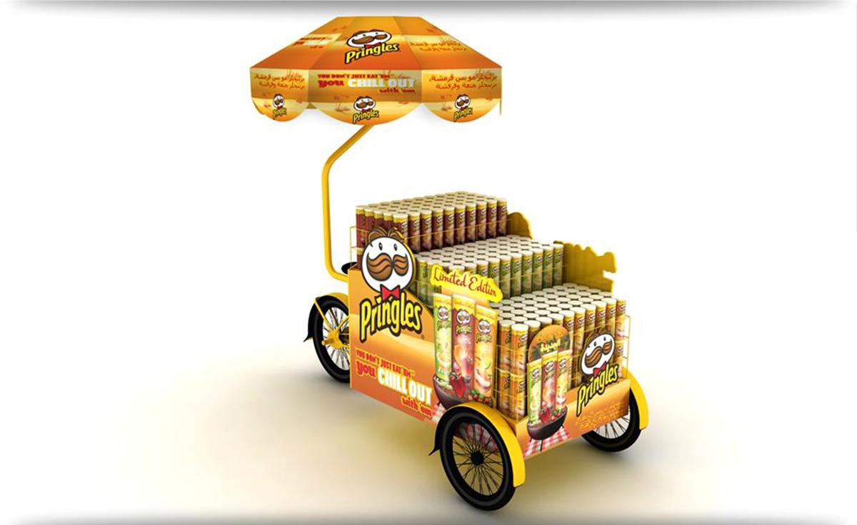 Dưới đây là những mẫu POSM trưng bày sản phẩm Pringles