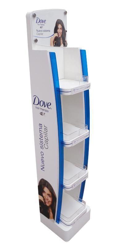 Mẫu kệ trưng bày sản phẩm Dove