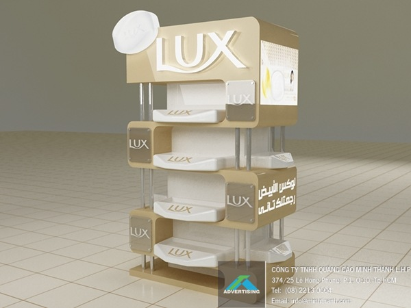 booth trưng bày sản phẩm