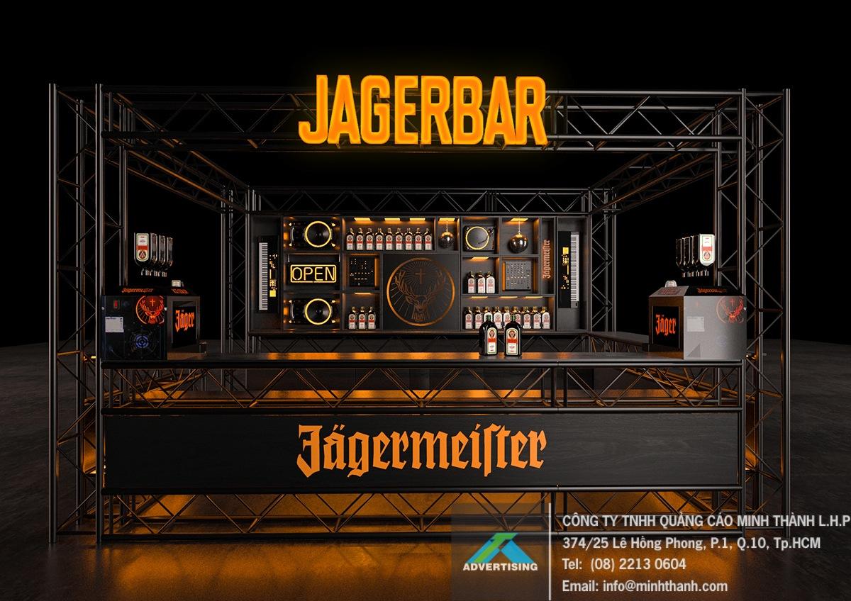 Quầy bar sự kiện Jägermeister
