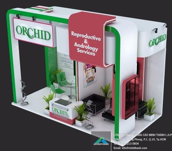 Gian hàng orchid
