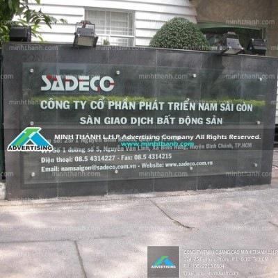 Advertising signboard
