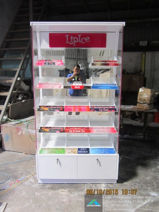 Manufacturing  Lipice Kien Giang supermarket shelves