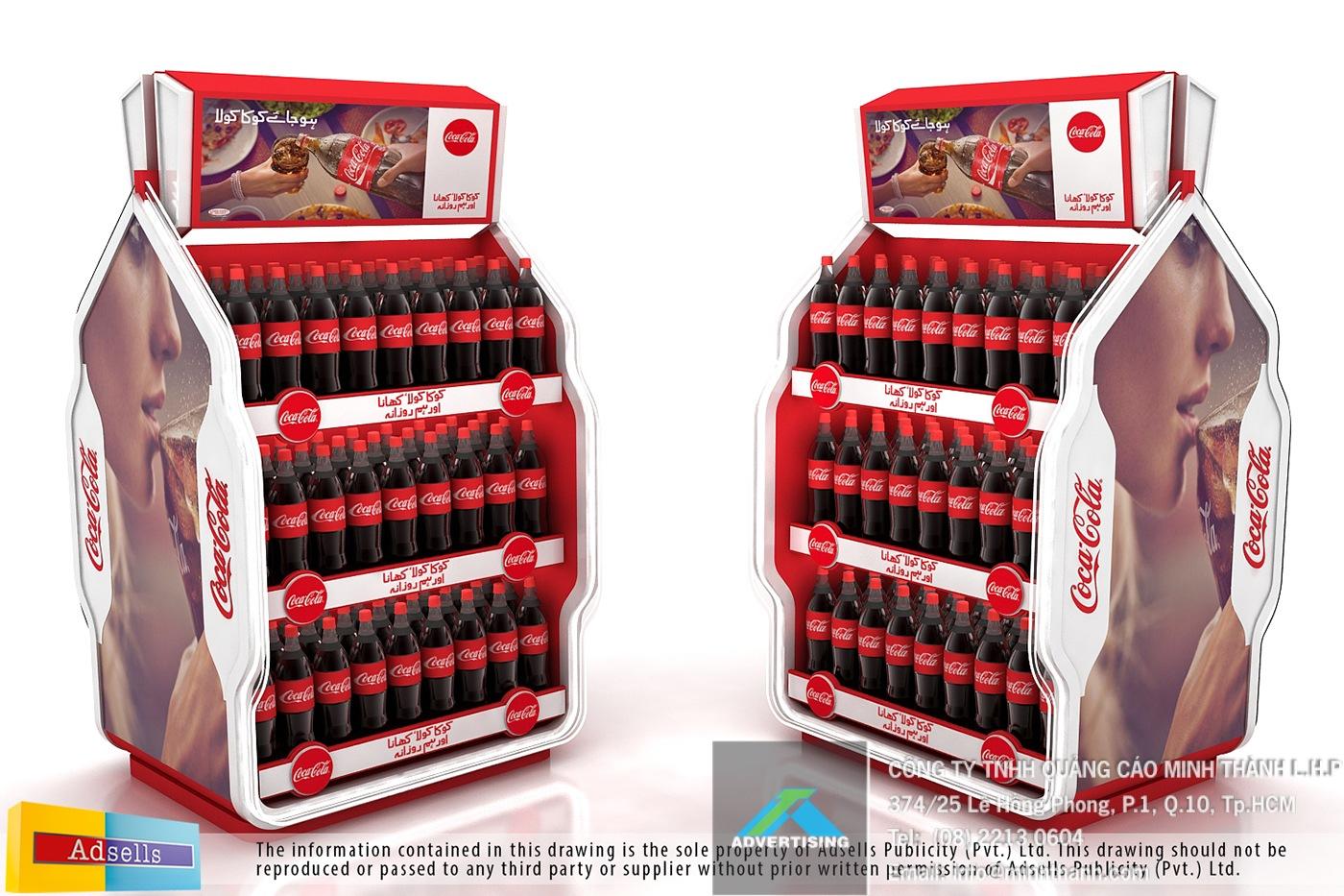 Mẫu kệ trưng bày Coke (phần 2)