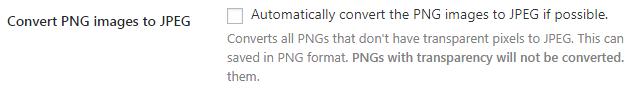 chuyển ảnh PNG sang JPG khi có thể