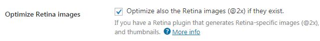 tối ưu ảnh Retina